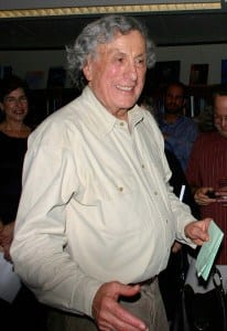 Stan Holwitz at a retirement party in his honor