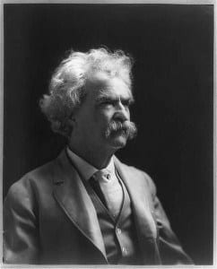 Mark Twain. Source: Library of Congress