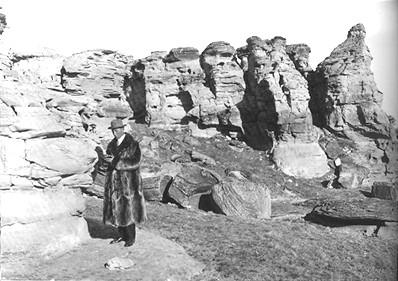 Barnum Brown in 1914 (Wikimedia Commons)