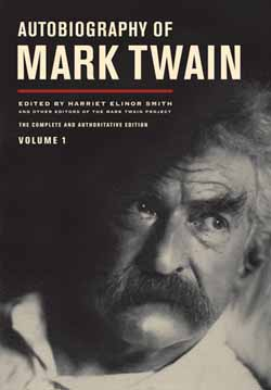 Autobiography of Mark Twain cover image