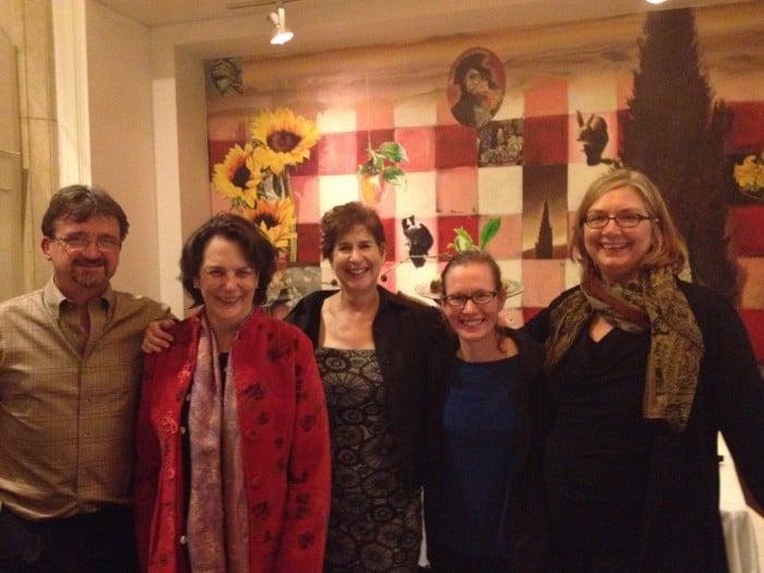 (L-R) Timothy Black,  Annette Lareau,  Naomi Schneider, Marianne Cooper,  Mary Erdmans