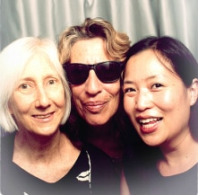Claudia, Sandy, and Lia