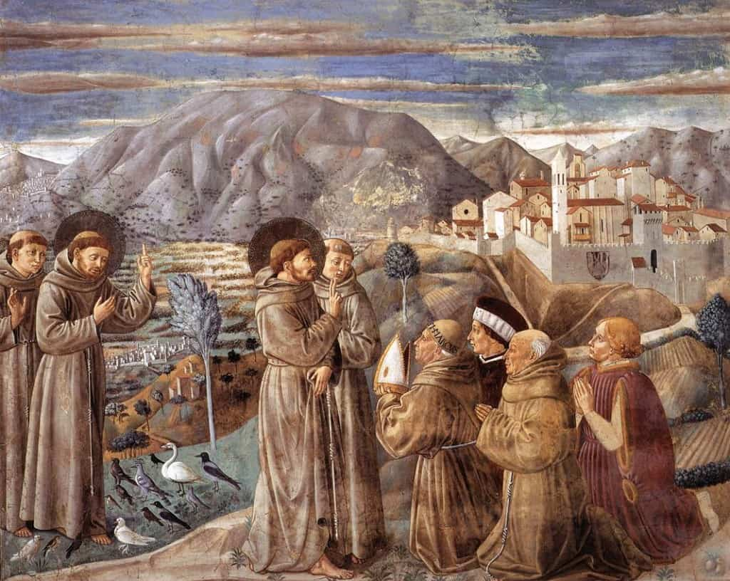 Scenes from the Life of St Francis (Scene 7), 1452