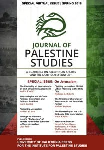 Special Virtual Issue Cover - Jerusalem copy-1