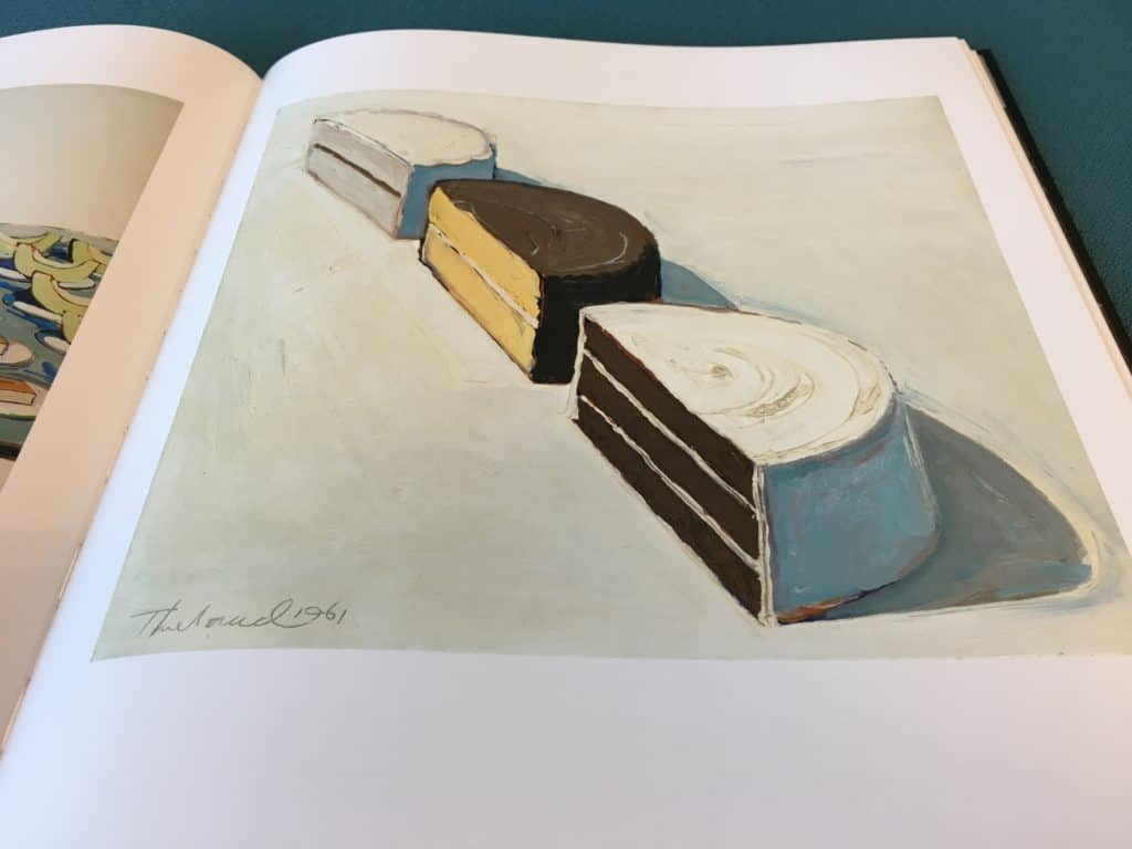 Detail photo of painting by Wayne Thiebaud