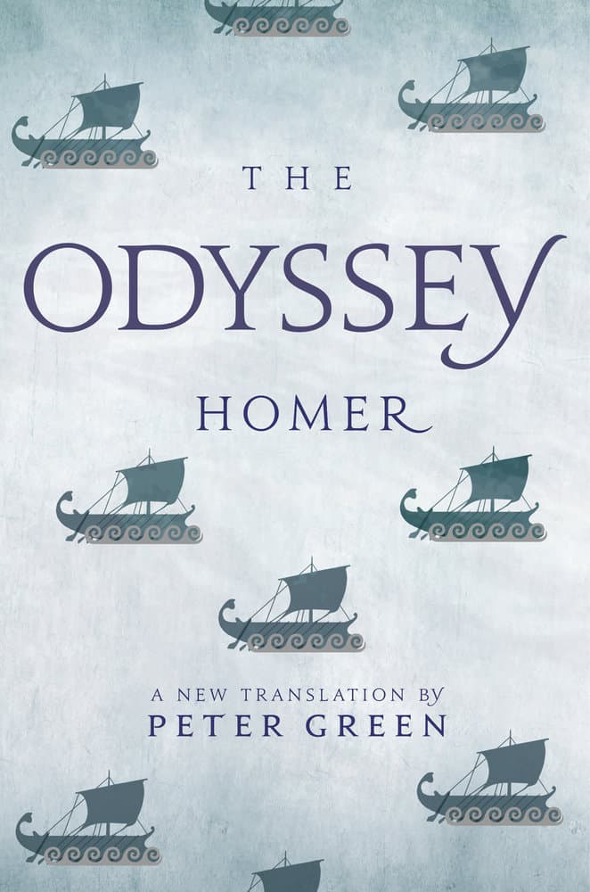 The Odyssey By Homer Paperback University Of California Press
