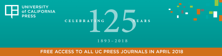 UC Press Journals