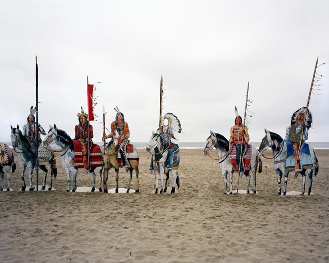<p>&ldquo;Wooden Indian&rdquo; with no face. Ocean Beach, San Francisco, 2008.</p>