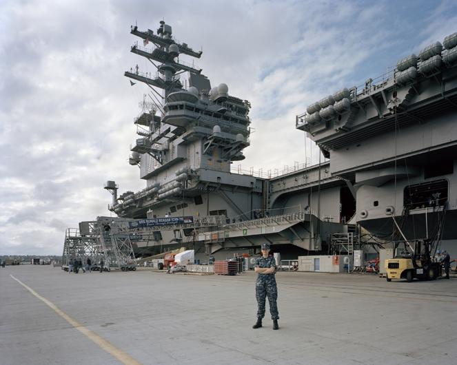 <p>USS Ronald Reagan. San Diego, 2010.</p>