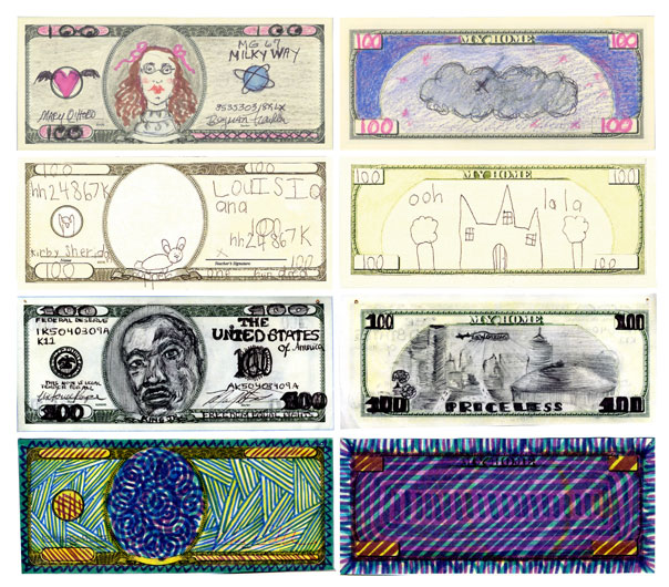 <p>Mel Chin: <em>Fundred Dollar Bill Project</em></p>