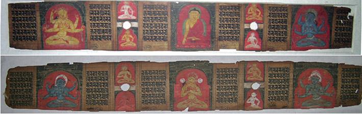 <p>Web 5-6 Folios 1v&ndash;2r, AsP Ms (Ms D10), Lakṣmaṇasena&rsquo;s 47th year (ca. 1226 CE), Bharat Kala Bhavan, Banaras Hindu University (BHU), Varanasi.</p>