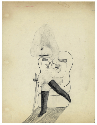 <p><em>Untitled</em>, 1971. Graphite on paper, 11 x 8 1/2 in. Courtesy of the artist</p>