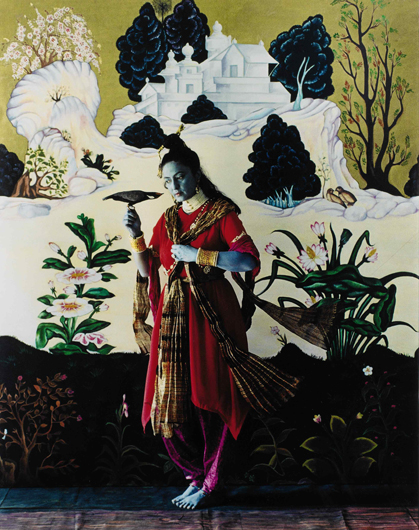 "<p><em>The Native Types—Yogini</em> (after a sixteenth-century Deccani painting), from the project ""Native Women of South India: Manners and Customs,"" 2000 – 2004. Collection of Dipti and Rakesh Mathur, Courtesy of the artist and Nature Morte, New Delhi</p>"