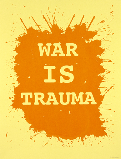 <p>Colin Matthes, <em>War is Trauma</em>, 2010. Print run for &ldquo;Operation Exposure: War is Trauma,&rdquo; Iraq Veterans Against the War and Justseeds Artists&rsquo; Cooperative.</p>