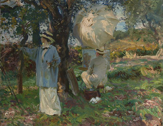 <p>John Singer Sargent (American, b. Italy, 1856&ndash;1925), &ldquo;The Sketchers,&rdquo; 1913. Oil on canvas. 22 &times; 28 in. Virginia Museum of Fine Arts, the Arthur and Margaret Glasgow Fund &copy; Virginia Museum of Fine Arts</p>