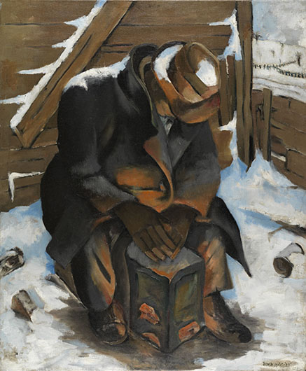 <p><em>The Wanderer (Johnny)</em>, 1933<br /> Oil on canvas, 36 x 30 in.<br /> Estate of Norman W. Lewis; Courtesy of Michael Rosenfeld Gallery, New York,<br /> &copy; Estate of Norman W. Lewis; Courtesy of Michael Rosenfeld Gallery LLC, New York, NY</p>