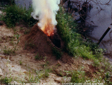 <p>Ana Mendieta<br /><em>Volc&aacute;n</em>, 1979 <br />Super 8 film, color, silent</p>