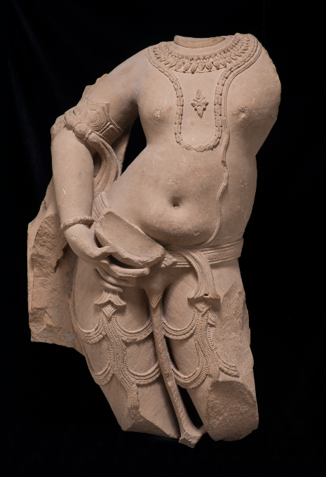 <p><em>Balarama as the Eighth Avatar of Vishnu and Elder Brother of Krishna</em>, India, Madhya Pradesh, 11th century. Sandstone. Santa Barbara Museum of Art, Gift of Wright S. Ludington.</p>