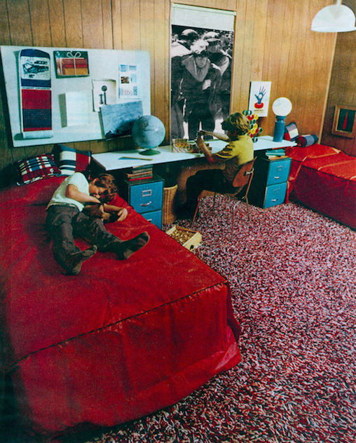 <p>Martha Rosler<br /> <em>Boys&rsquo; Room</em> from <em>House Beautiful: Bringing the War Home, c. 1967-72</em><br /> Photomontage<br /> Courtesy of the artist and Mitchell-Innes &amp; Nash, New York</p>